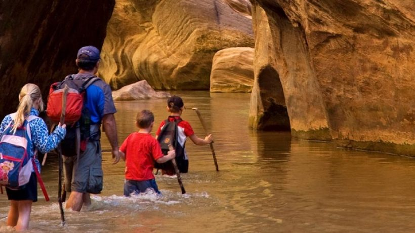 In the great outdoors: family adventures