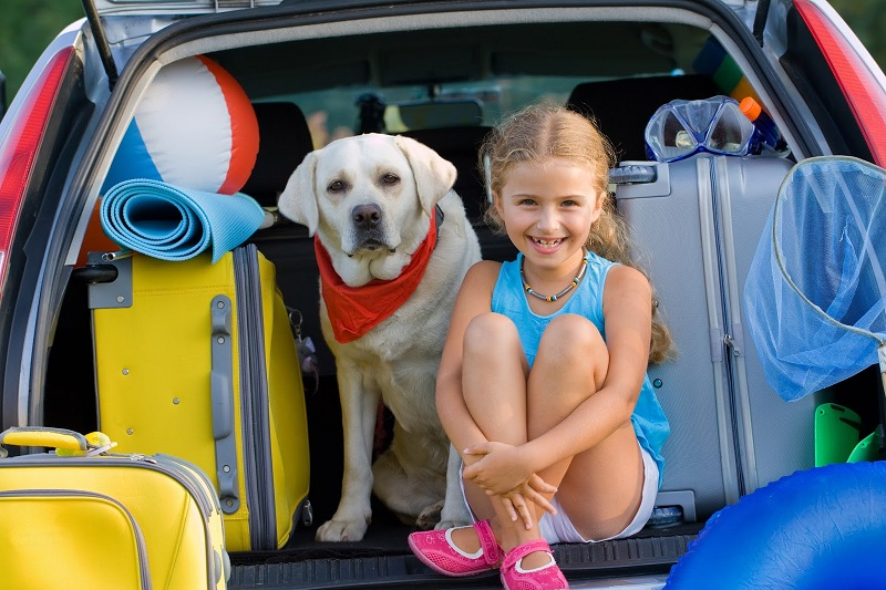 Places to travel with children
