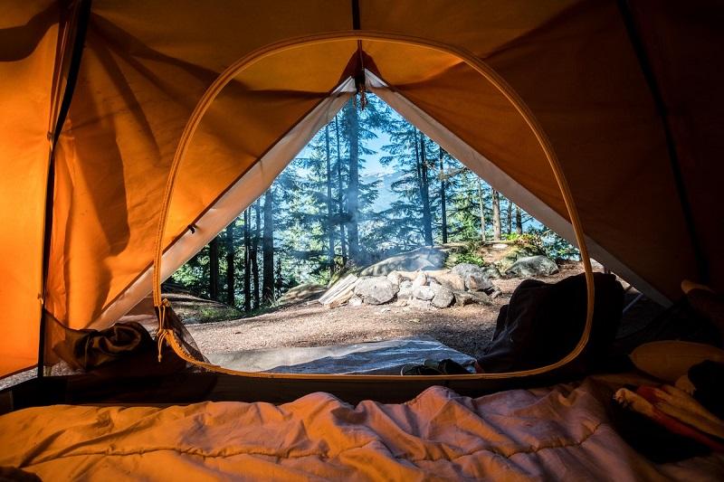 original campsites in Quebec